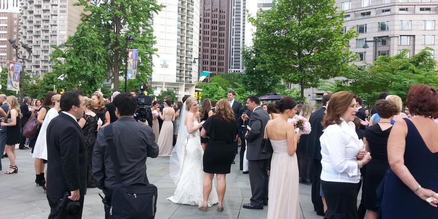 Sister Cities Park wedding Philadelphia