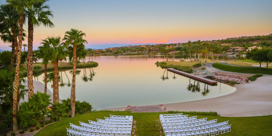 Reflection Bay Lake Las Vegas Venue