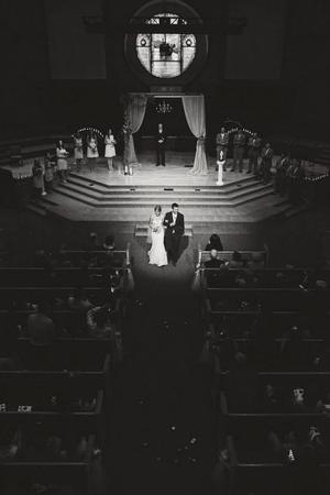 First Baptist Church McKinney wedding Dallas