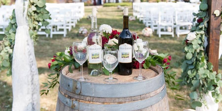 Cielo Estate wedding Sacramento