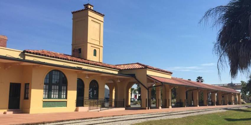 Historic Venice Train Depot wedding Naples/Fort Myers