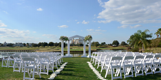 Reunion Resort, Kissimmee wedding Orlando