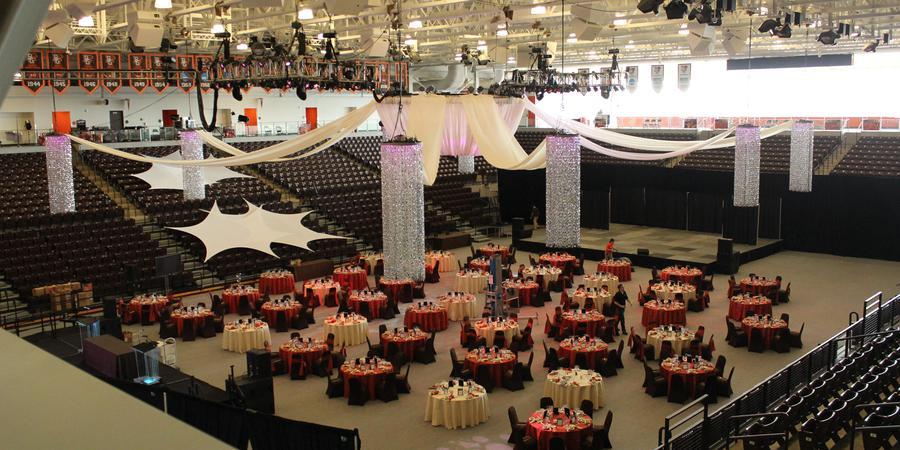 Stroh Center wedding Toledo
