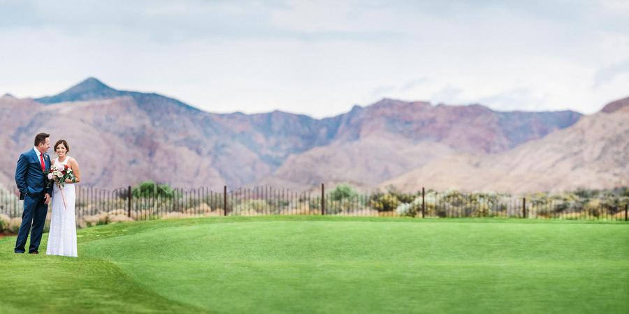 The Ledges Golf Course wedding South Utah