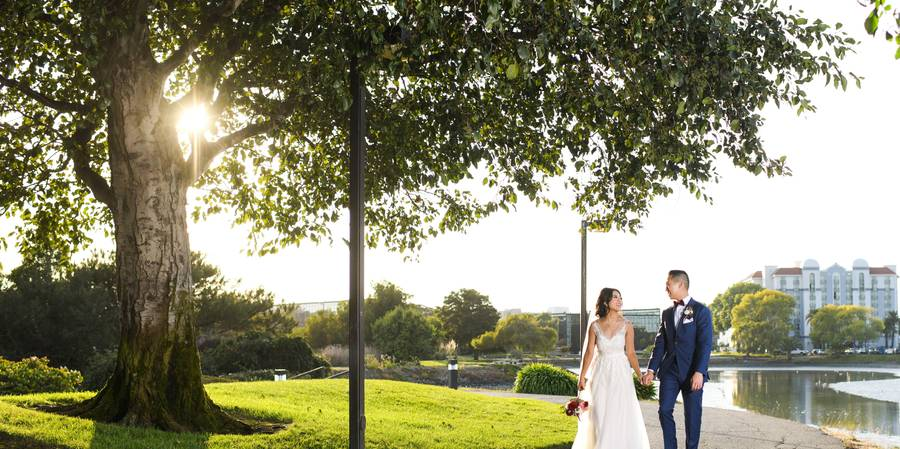 Hilton San Francisco Airport Bayfront wedding Peninsula