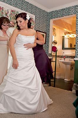 Mc Caffrey House Bed Breakfast Inn wedding Yosemite