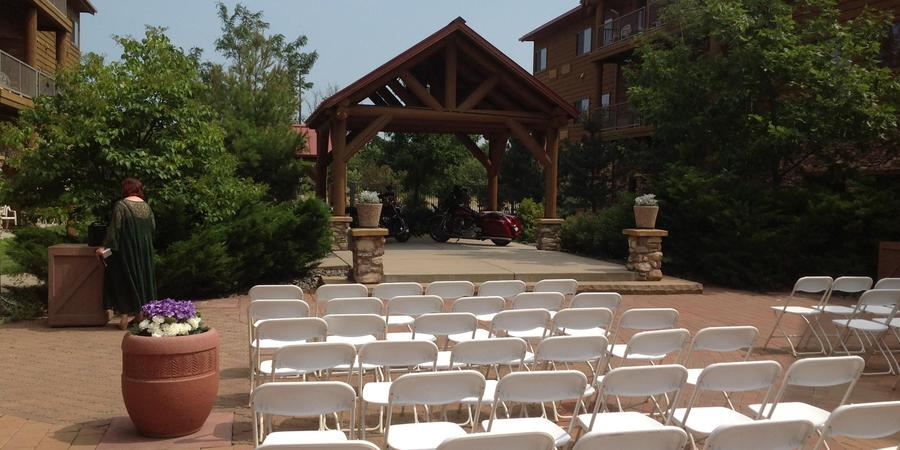 Grand Lodge Waterpark Resort wedding Wausau
