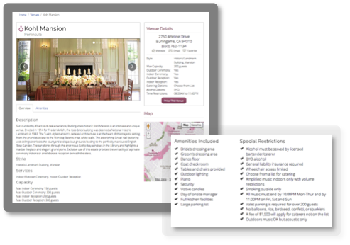 Learn About Wedding Venues on Wedding Spot