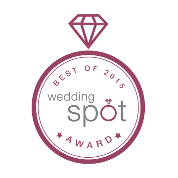 2015 Wedding Spot award winners