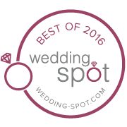 2016 Wedding Spot award winner