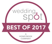2017 Wedding Spot award winner