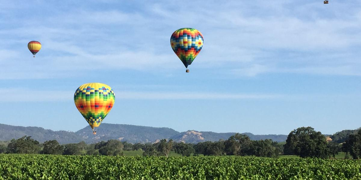napa, california hot air balloon ride