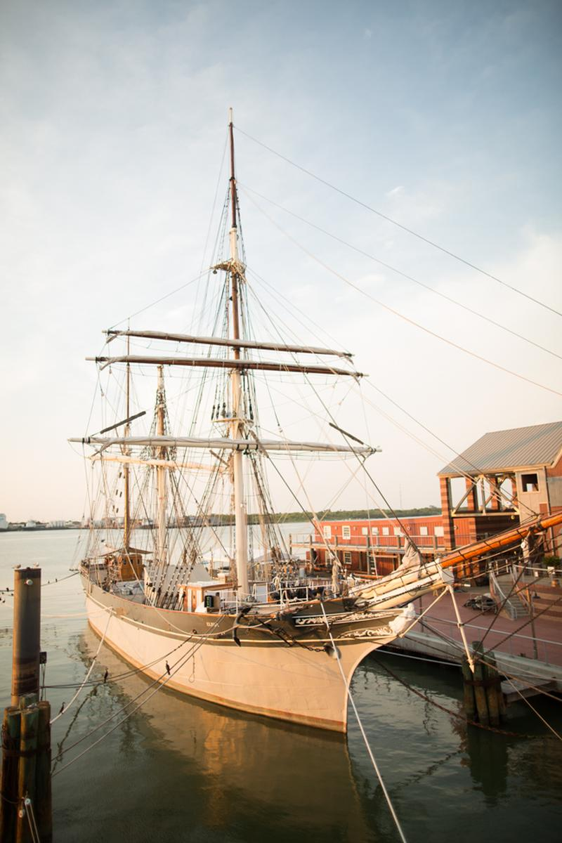 1877 Tall Ship Elissa Amp The Texas Seaport Museum Weddings