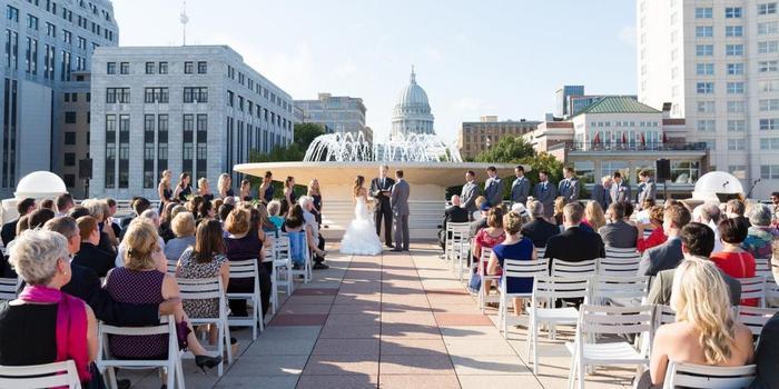 Monona Terrace Community and Convention Center wedding Madison