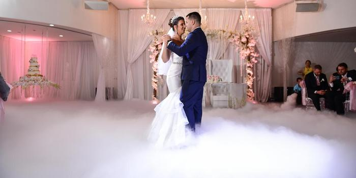 Aqua Reception Hall wedding Miami
