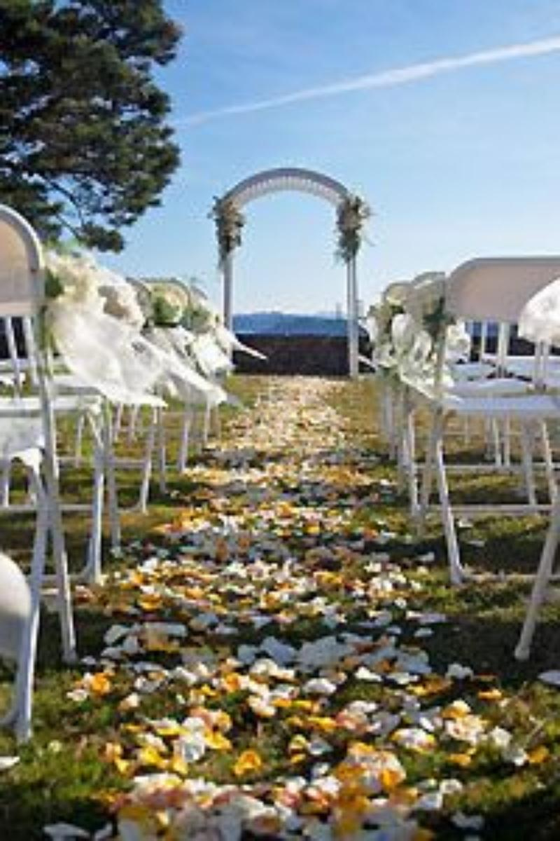 Paradise beach park tiburon wedding