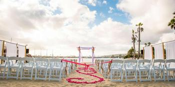 Bahia Resort Hotel weddings in San Diego CA
