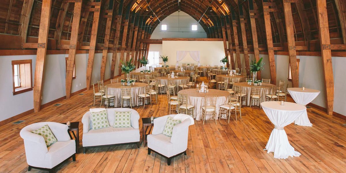 The Cathedral Barn At Historic Barns Park Weddings