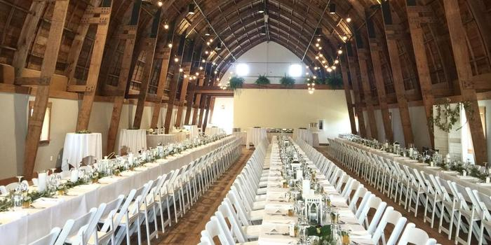 The Cathedral Barn At Historic Barns Park Weddings Get