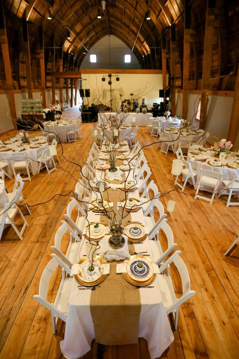 The Cathedral Barn At Historic Barns Park Weddings