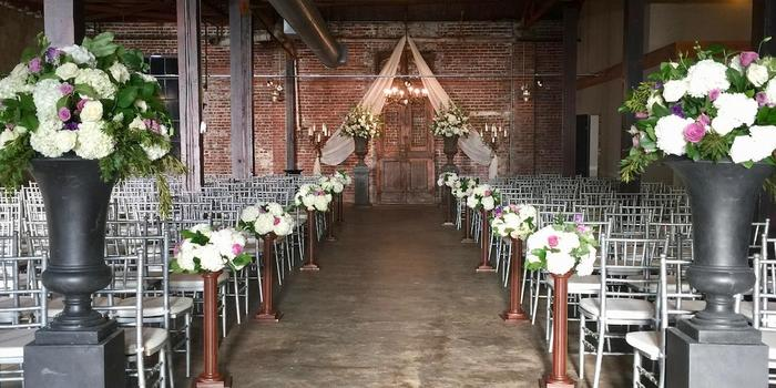 The South Warehouse wedding Mississippi