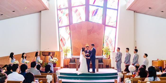 Immanuel Lutheran Church wedding Peninsula