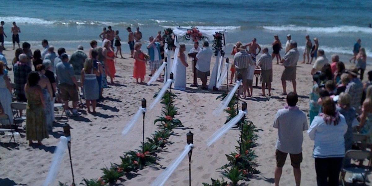 Breezeway Beach Weddings In Westerly Ri