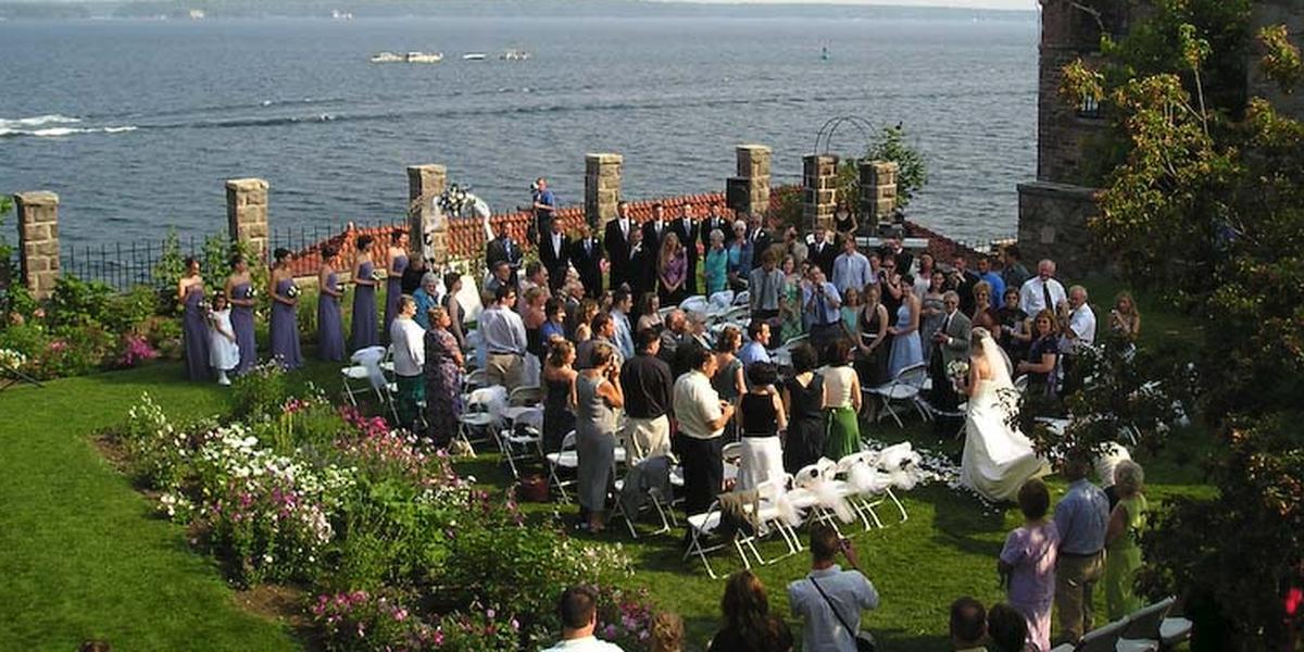 Singer Castle on Dark Island Weddings | Get Prices for ...