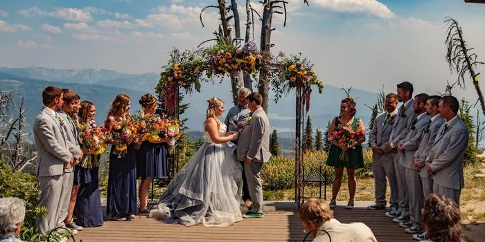 Brundage Mountain Resort wedding Idaho