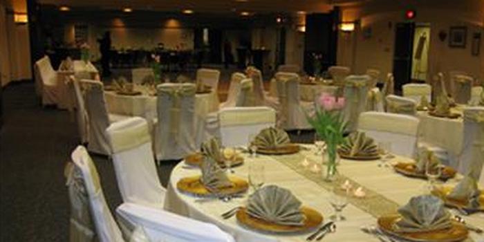 Wright State University's Nutter Center wedding Dayton