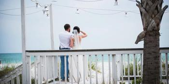 The Sunset Deck at The Beach House weddings in Bradenton Beach FL