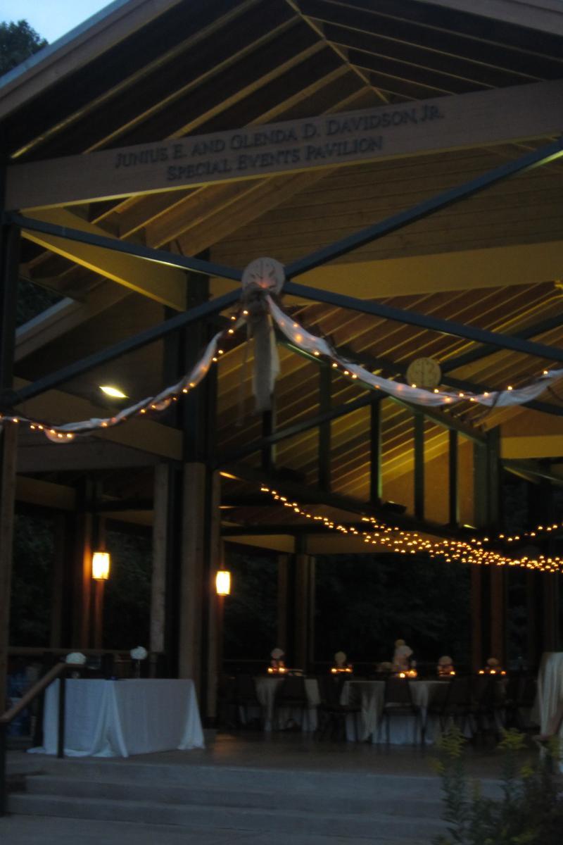 Lichterman Nature Center Memphis Wedding