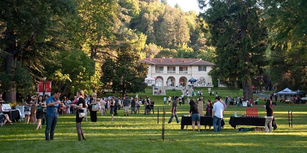 villa montalvo at montalvo arts center weddings in saratoga ca