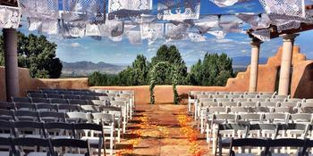 Hacienda Doña Andrea de Santa Fe weddings in Los Cerrillos NM