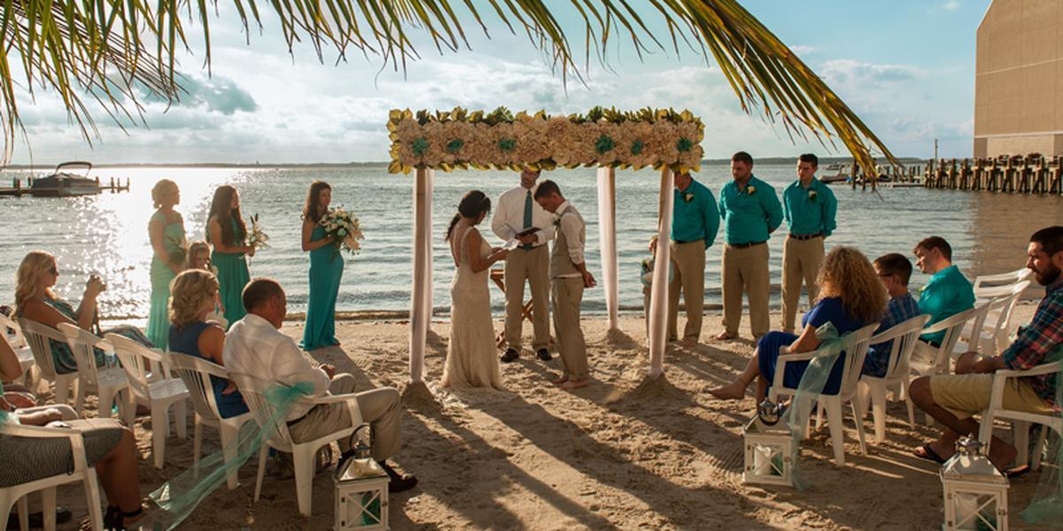 Beach Wedding Ocean City Md
