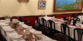 Trattoria Sorrento Italian Restaurant weddings in Bethesda MD