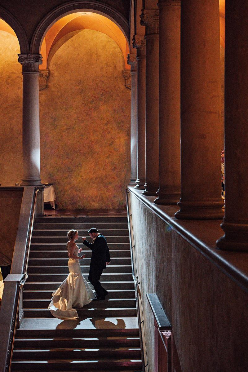 Worcester Art Museum wedding venue picture 3 of 8 - Erica Ferrone Photography