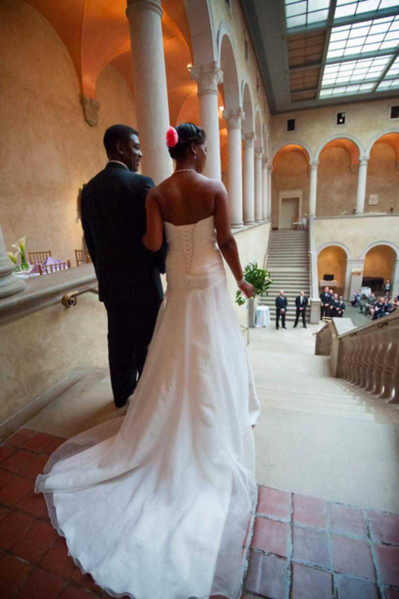 Worcester Art Museum wedding venue picture 8 of 16 - Photo by: Phil Fox Photography
