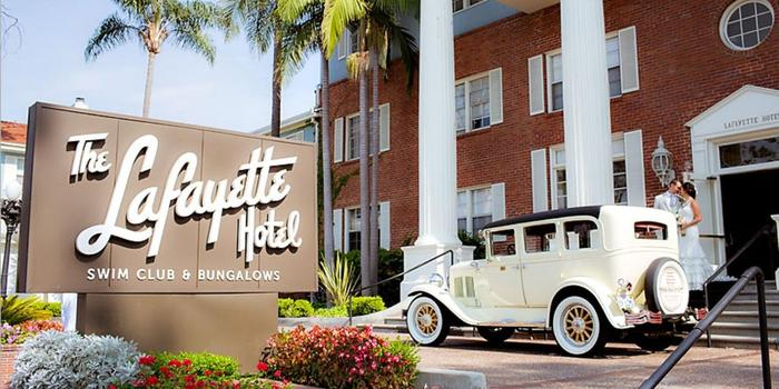 Lafayette hotel wedding