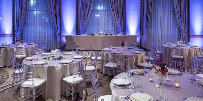 Hyatt Rosemont near O'Hare wedding Chicago
