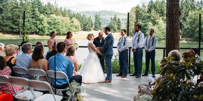 Northwest Trek Wildlife Park wedding Tacoma