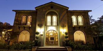 The San Jose Woman's Club weddings in San Jose CA