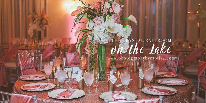 The Crystal Ballroom On The Lake Weddings Get Prices For