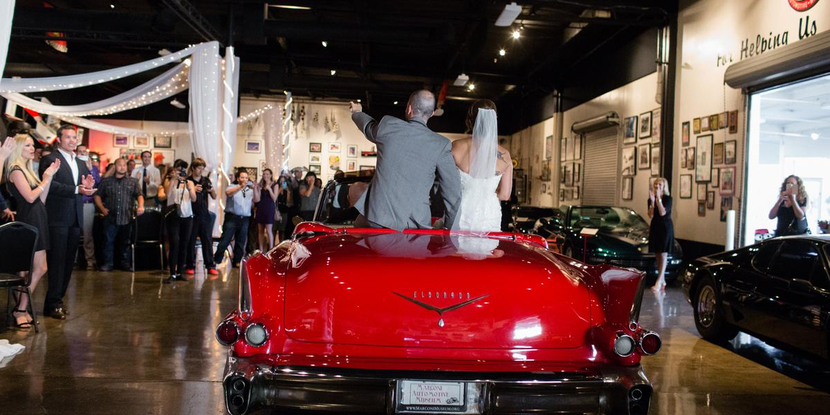 Marconi Automotive Museum Weddings Get Prices For