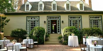 Providence Hall House weddings in Williamsburg VA