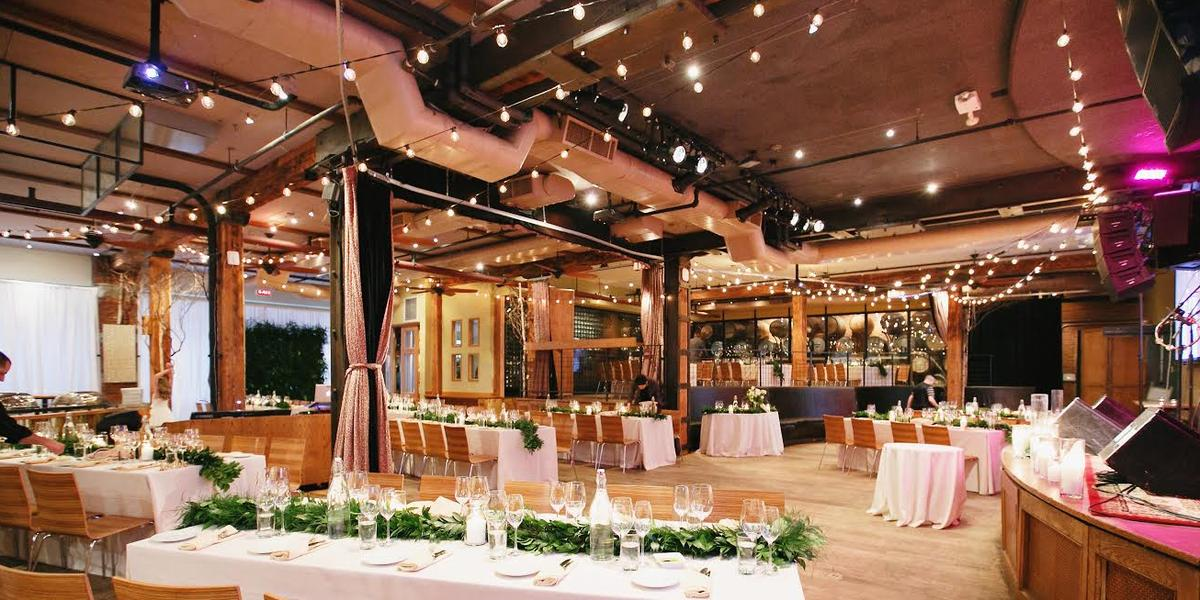 City winery new york weddings get prices for wedding for Outdoor wedding venues in ny