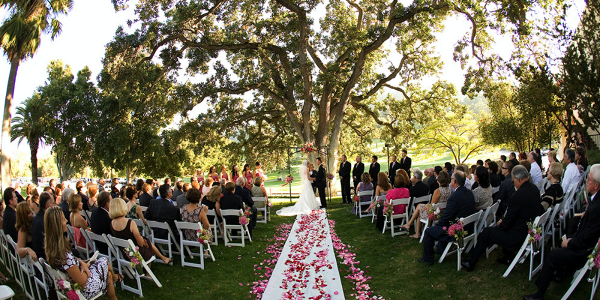 Castlewood country club weddings get prices for wedding for Best wedding venues california