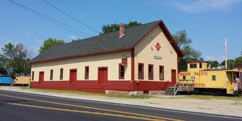 Merrimack Valley Railroad Function Hall weddings in Northfield NH