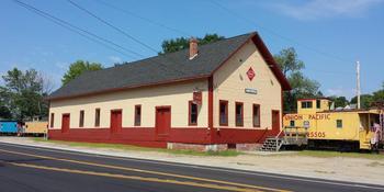 Merrimack Valley Railroad Function Hall weddings in Northfield NH
