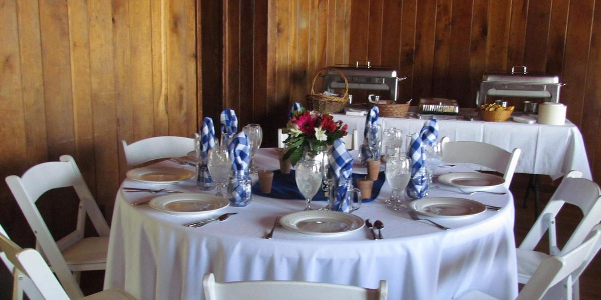 Tea Room Gambrill State Park Wedding